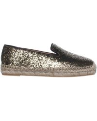 Marc Jacobs | Marc By Space Glitter Espadrille Loafer Flats | Lyst