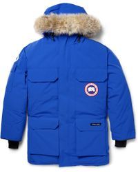 Canada Goose Expedition Coyote-trimmed Parka - Lyst