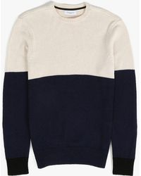 Ovadia And Sons Block Sweater black - Lyst