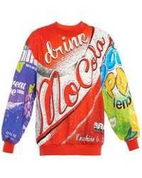 Moschino Logo-print Sweatshirt - Lyst