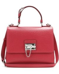 Dolce & Gabbana Monica Small Leather Shoulder Bag - Lyst
