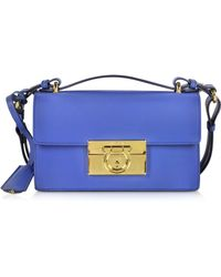 Ferragamo - Small Aileen New Iris Leather Shoulder Bag - Lyst