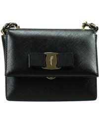 Ferragamo Handbag Woman black - Lyst