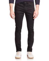 Nudie Jeans Lean Dean Carrot Slim-Fit Jeans black - Lyst
