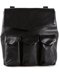 Yohji Yamamoto Three Pocket Pouch Bag - Lyst