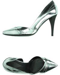 McQ by Alexander McQueen Pump silver - Lyst
