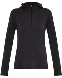 Moncler Grenoble - Wool-Blend Hooded Top - Lyst