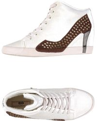 Olo High-Tops & Trainers beige - Lyst