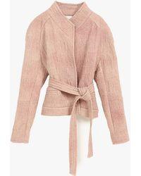 IRO Hawai Jacket pink - Lyst