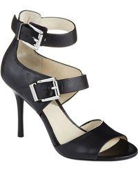 MICHAEL Michael Kors Adriana Ankle Strap Heels - Lyst