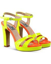 Love Moschino Platform Sandals - Lyst