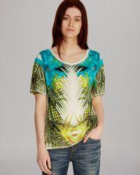 Karen Millen Tee Jungle Print - Lyst