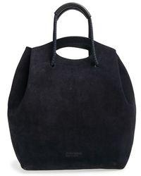 Pedro Garcia - Suede Drawstring Bucket Bag - Lyst