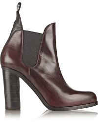 Rag & Bone Stanton Polished-leather Ankle Boots - Lyst