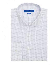 Vince Camuto Dobby Slim-Fit Dress Shirt - Lyst