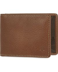 Mulberry | Natural Leather Travel Card Holder Oak | Lyst