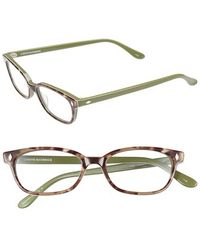 Corinne Mccormack - 'cyd' 50mm Reading Glasses - Olive - Lyst
