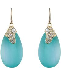 Alexis Bittar Desert Jasmine Drop Earring blue - Lyst