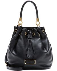 Marc By Marc Jacobs Drawstring Leather Bucket Bag - Lyst