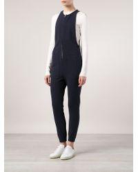 NLST - Sleeveless Zip Detail Jumpsuit - Lyst