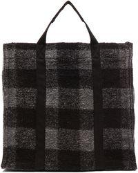 Étoile Isabel Marant Rusty Check Bag - Gray