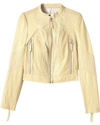 Rebecca Taylor | Patched Leather Jacket | Lyst