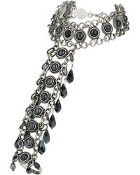 Topshop Dome Stone Hand Chain - Lyst