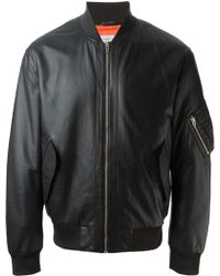 McQ by Alexander McQueen Bomber Jacket - Lyst