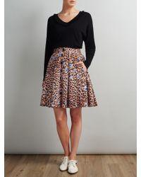Somerset by Alice Temperley - Leopard Print Skirt - Lyst