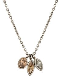 Malcolm Betts - Women's Triple-pendant Necklace - Lyst