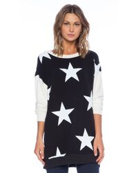 Wildfox Black Starshine Sweatshirt - Lyst