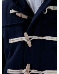 PS by Paul Smith Duffle Coat - Blue