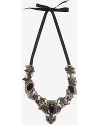 Ranjana Khan - Embellished Self Tie Necklace - Lyst