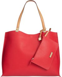 Tommy Hilfiger Th Hinge Double Sided Tote - Lyst