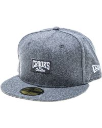 Crooks And Castles The Core Logo Fitted Hat - Lyst
