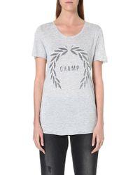 Zoe Karssen Champ T-shirt - Lyst