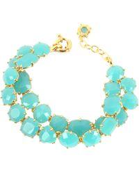 Les Nereides - La Diamantine Turquoise Double Bracelet - Lyst