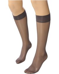 Wolford Satin Touch 20 Knee-highs - Lyst
