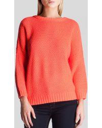 Ted Baker Aveleen Tuck Stitch Sweater - Lyst