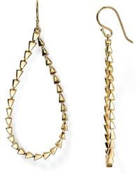 Melinda Maria - Large Pyramid Drop Earrings - Lyst