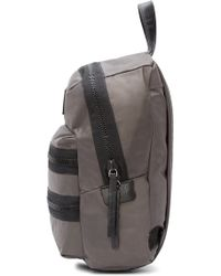 Marc By Marc Jacobs Gray Domo Arigato Mini Packrat Backpack