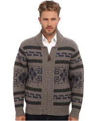 Pendleton Westerley Zip Cardigan Sweater - Lyst