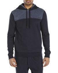 Diesel Brandon Hooded Sweatshirt black - Lyst
