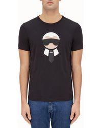 Fendi - 'karl Loves ' T-shirt - Lyst