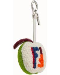 Fendi   Apple Bag Charm Apple Bag Charm   Lyst
