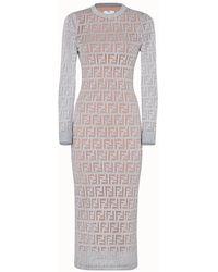 Fendi Dress - Metallic