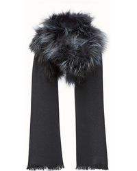 Fendi - Touch Of Fur Stole Touch Of Fur Stole - Lyst b8d4a327e01