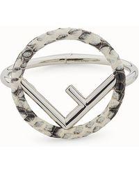 Fendi - F Is Bracelet F Is Bracelet - Lyst