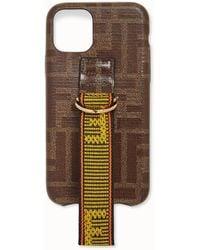 Fendi Iphone 11 Pro Case - Brown