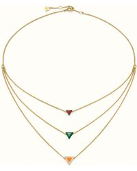 Fendi - Rainbow Necklace Rainbow Necklace - Lyst